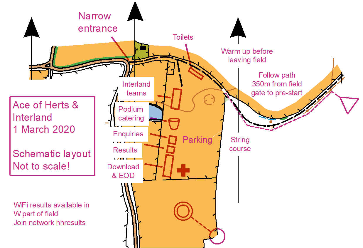 Event centre layout